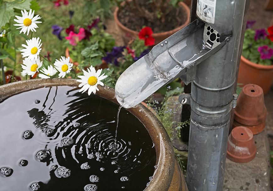 Auslaufverlängerung für Regenwasserklappe 100 mm