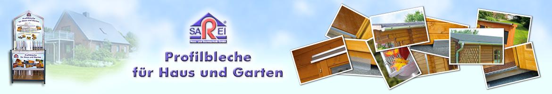 Profilbleche für Haus und Garten